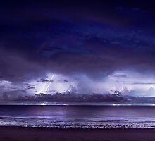 Peninsula Lightning by RikG