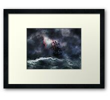 The Rage of Poseidon II Framed Print