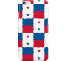 Smartphone Case - Flag of Panama - Patchwork Painted iPhone Case/Skin