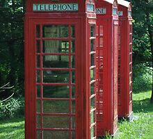 1935 Telephone Kiosk - King George V - I by studio20seven