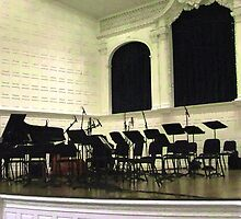 Awaiting the Music by RC deWinter