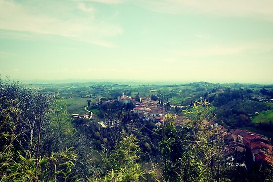 View over San Miniato by modohunt