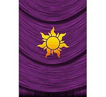 Tangled Kingdom Sun Emblem 2 Photographic Print