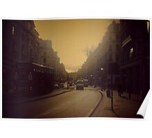 Oxford Street Haze Poster