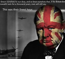 Winston Churchill by Steve's Fun Designs