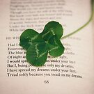 poetry and four leaf clover by Catherine  Regan
