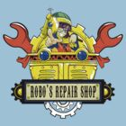 Robo Repair Shop by metrokard