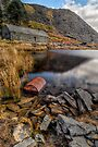 Cwmorthin Slate Quarry by Adrian Evans