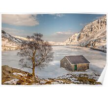 Frozen Lake Ogwen Poster
