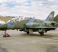 Hawker-Siddeley Hawk T.1 XX352 by Colin Smedley
