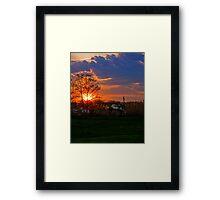 Annapolis Sunset Framed Print