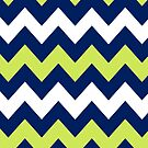 &gt;&gt;chic.chevron&lt;&lt; - navy&amp;lime&amp;white by designsbyjenn
