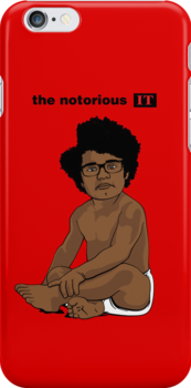 The Notorious I.T. (on Red) by huckblade