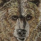 Natures Fiber Grizzly by Dena Kotka-Holtz