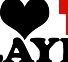 I Heart Player 1 (b) Sticker