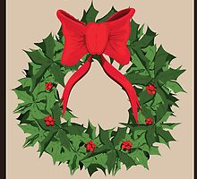 Christmas Wreath by TrioDesigns