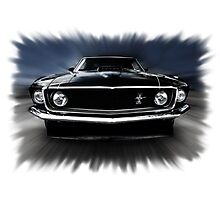 1969 FORD MUSTANG Photographic Print