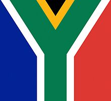 Iphone Case - Flag of South Africa - Vertical by Mark Podger
