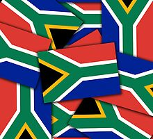 Smartphone Case - Flag of South Africa - Multiple by Mark Podger