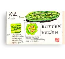 bitter melon Canvas Print