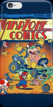 Warp Zone Comics by AtomicRocket