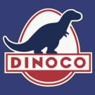 Dinoco Cars Movie by logo-tshirt