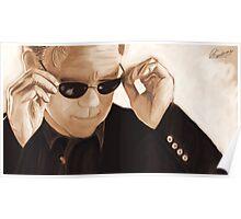 Horatio Caine / David Caruso Duotone Poster