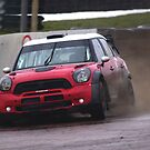 Liam Doran tests the Prodrive WRC Mini sideways by motapics
