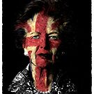 Margaret Thatcher Red White and Blue by dangerpowers123