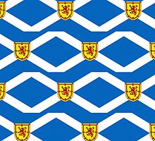 Smartphone Case - Flag of Scotland (unofficial) - Patchwork by Mark Podger