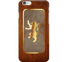 Lannister House Sigil iPhone Case/Skin
