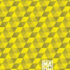 TRIANGULAR (YELLOW) by Mark Omlor