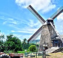 Bajan Windmill by Shawn Ifill