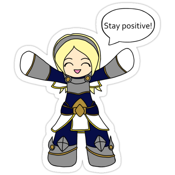 Lux - Stay Positive! by RubyTruffles