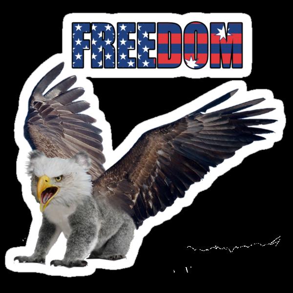 Ameristralia Eaglekoala (Freedom Edition) by HeyHaydn