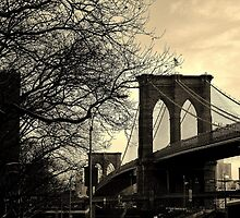 Brooklyn Bridge, New York City - by Kirsty Drummond by kdrummondphotos