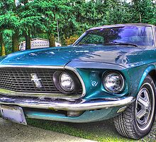 1969 Mustang in HDR by Tori Snow
