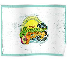 SUMMER FLING. Poster