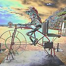 Frog Cycling, Sculptures By The Sea, Australia 2011 by muz2142