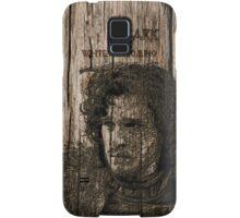 Jon Snow - Carved case Samsung Galaxy Case/Skin