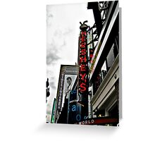 HERSHEY's Time Square in NYC (in color) Greeting Card