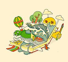 Book is the window of the world by Budi Satria Kwan