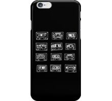 Our Song - black and white iPhone Case/Skin