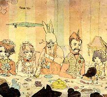 Dream Tea Party by Jasmin Garcia-Verdin