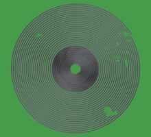 Vinyl Records Lover - Grunge Vinyl Record T Shirt Kids Clothes
