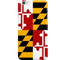 Smartphone Case - State Flag of Maryland  - Vertical iPhone Case/Skin