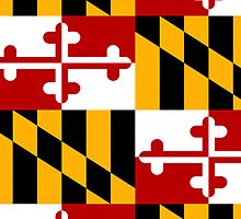 Smartphone Case - State Flag of Maryland  - Patchwork II by Mark Podger