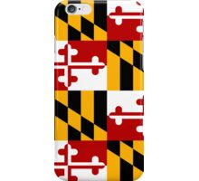 Smartphone Case - State Flag of Maryland  - Patchwork II iPhone Case/Skin