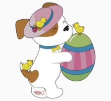 Cute Puppy Easter Egg Kids Clothes