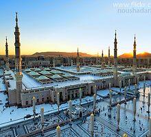 Masjid Nabawi -Madinah by Noushadali